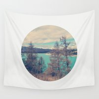 serenity Wall Tapestries featuring Serenity by yuvalaltman