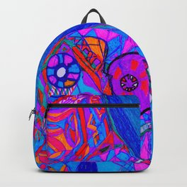 Water World in the Wild World. Backpack