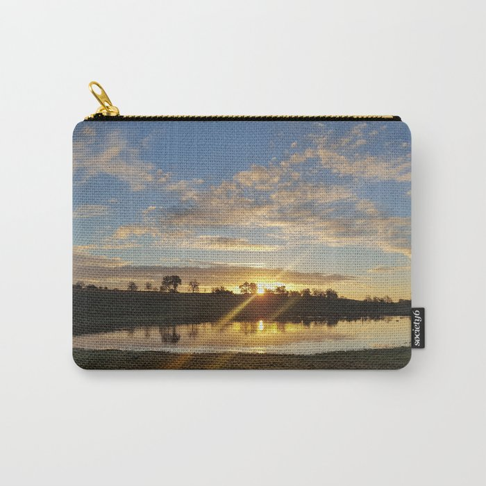 Inbetween Country and Paradise Carry-All Pouch