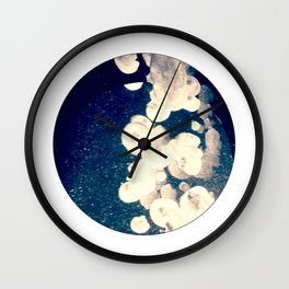 Jellyfish Space Wall Clock