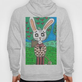 Card Soldier and White Rabbit Hoody