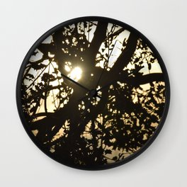 Celtic Sunset Wall Clock