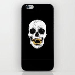 Snake Skin Skull iPhone Skin