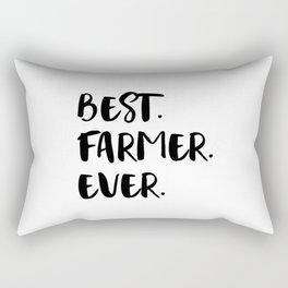 Best Farmer Ever Rectangular Pillow