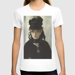 Edouard Manet - Young woman in a black hat T-shirt