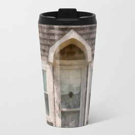 Cape Cod Cottage Watercolor Travel Mug