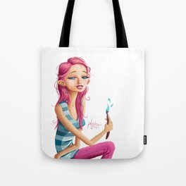 Rose Madder Tote Bag