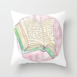 Read On Throw Pillow