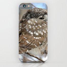 Self snuggle iPhone Case