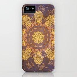 Khamsah iPhone Case