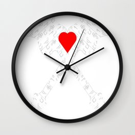 The Heart Of Music Wall Clock