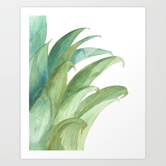 Botanical vibes 03 Art Print