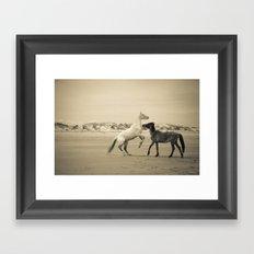 Wild Horses 2 Framed Art Print