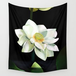 Lotus - Rise Up Wall Tapestry