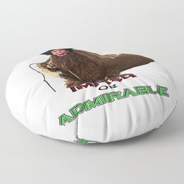 impish or admirable Floor Pillow