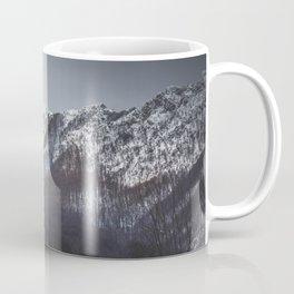 Snowy Mountain Range Coffee Mug
