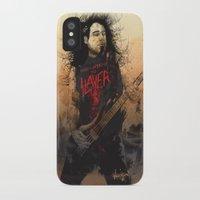 tom selleck iPhone & iPod Cases featuring Tom Araya by Fresh Doodle - JP Valderrama