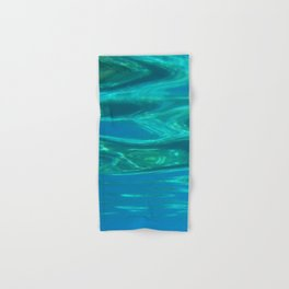Below the surface - underwater picture - Water design Hand & Bath Towel