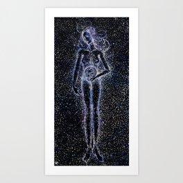 Nuit - The Starry Goddess Art Print