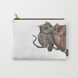 Eastern Screech Owl (Megascops asio) Carry-All Pouch