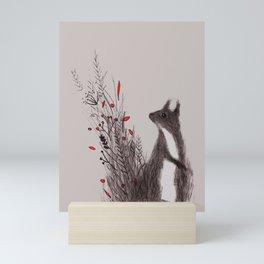 Squirrel Mini Art Print