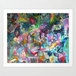 REM white noise Art Print