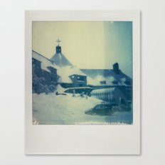 Timberline Lodge - Polaroid Canvas Print
