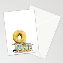 Randy's Donuts Stationery Cards