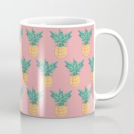 Pink Pineapple Coffee Mug