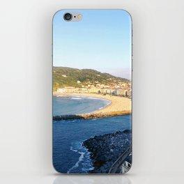Donostia San Sebastián overlook iPhone Skin