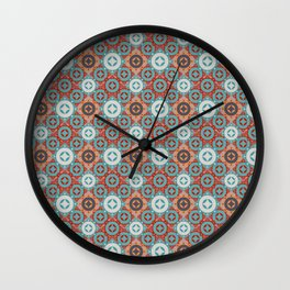 Symmetrical Stars and Circles Wall Clock