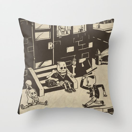 Shed Some Skin Throw Pillow