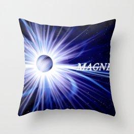 Magnetar. Throw Pillow