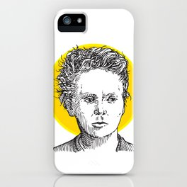 St. Marie Curie iPhone Case