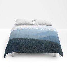 Olympic Mountains Comforters