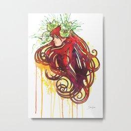Flower Sprite Metal Print