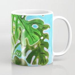 Happy Monstera Coffee Mug
