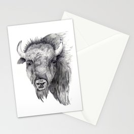 Bison Art Stationery Cards