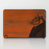 pig iPad Cases featuring Pig by Ilaria Meli