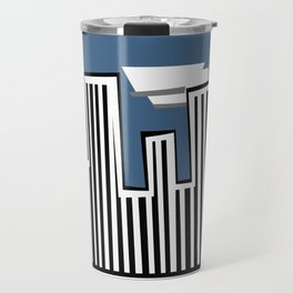 Untitled Minimalist Cityscape Two Travel Mug