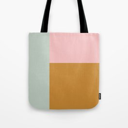 Abstract Geometric Color Block Design Tote Bag