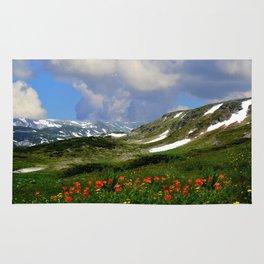 High Alpine Meadows Rug