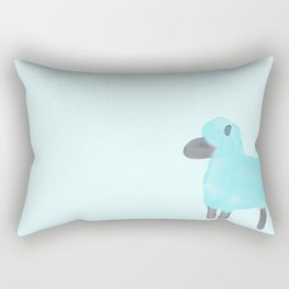 Little Blue Sheep Rectangular Pillow