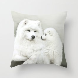 """ Together Once More "" Throw Pillow"
