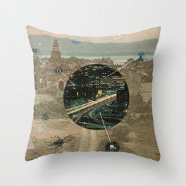 Sacred Future Throw Pillow