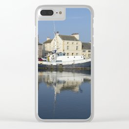 Trefusis GY242 at Glasson Dock Clear iPhone Case