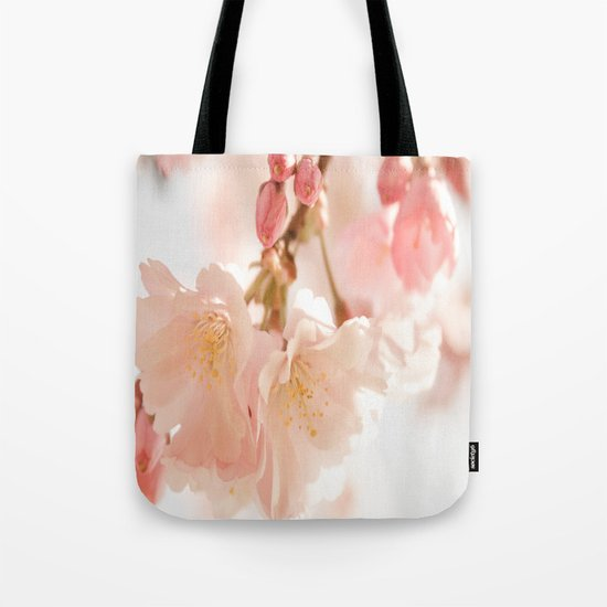 Cherry Bokeh Tote Bag