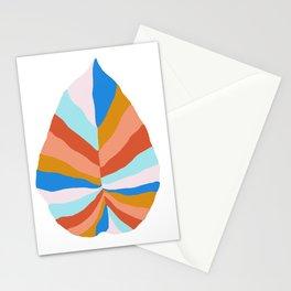 Camryn, rainbow leaf Stationery Cards