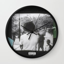 4 Your Eyez Only Wall Clock