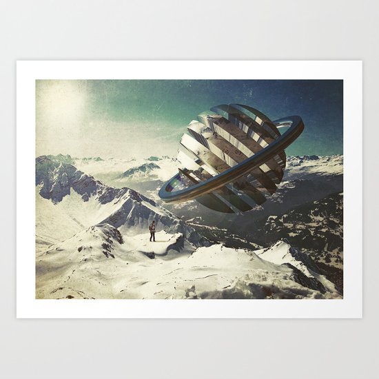 Lost and Found Art Print